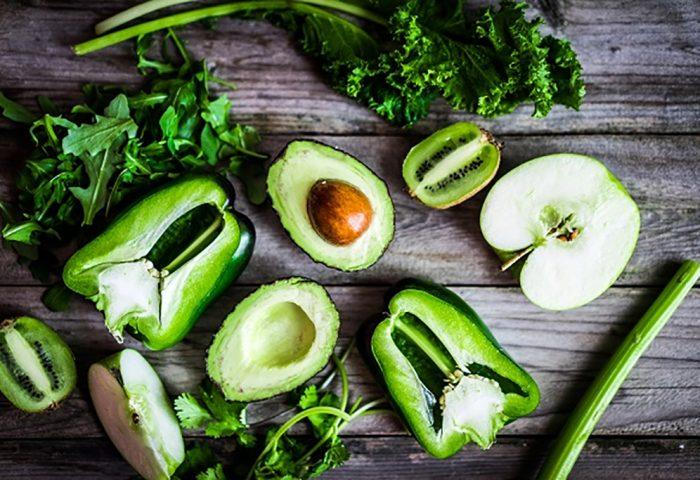 Alimentos verdes para saúde
