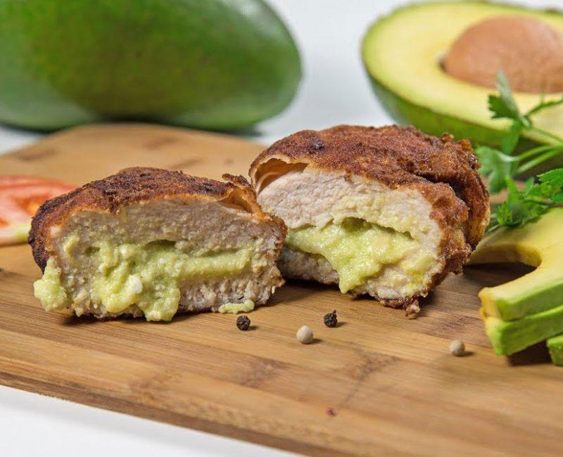 Peito de frango recheado com Abacate