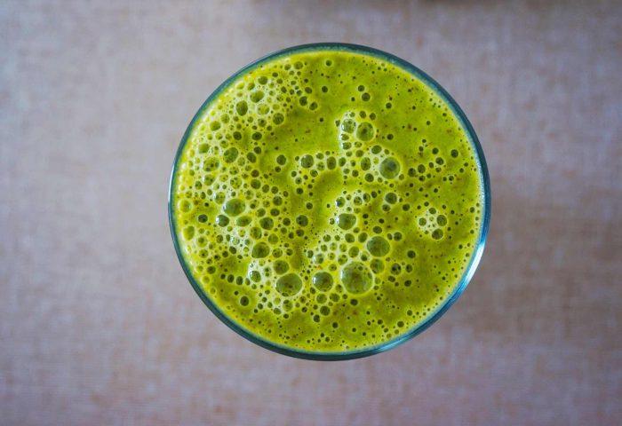 Suco detox com Abacate