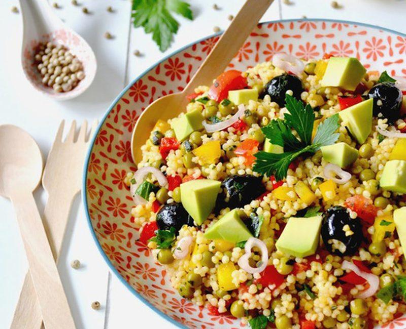 Cuscuz Marroquino com Abacate