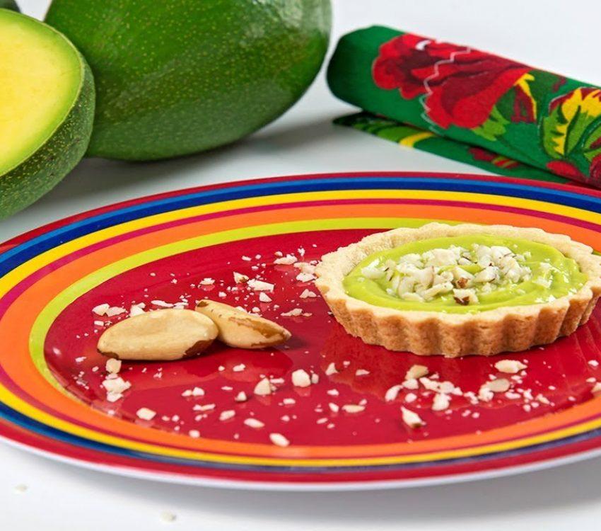 Torta de Limão e Abacate