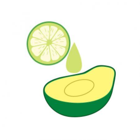 Suco de limão na superfície