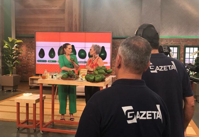 Amo Abacate no Programa Mulheres
