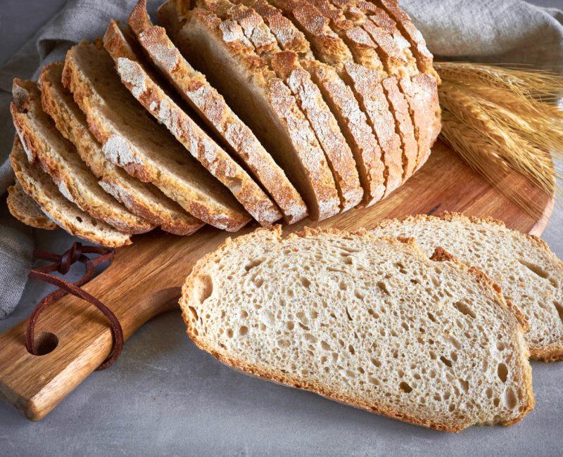 Pão caseiro com Abacate