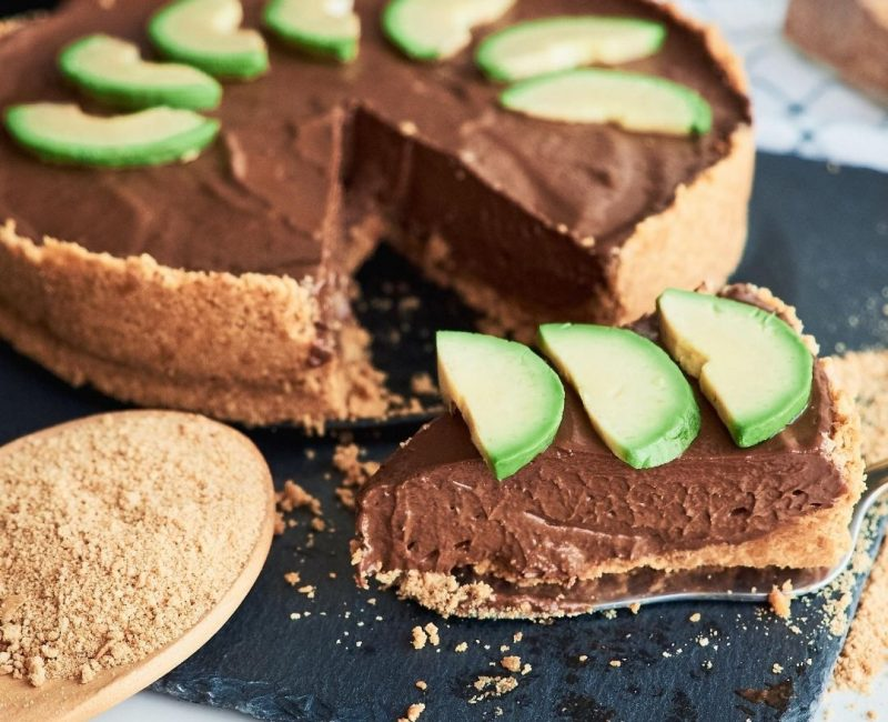 Torta de Chocolate com Abacate